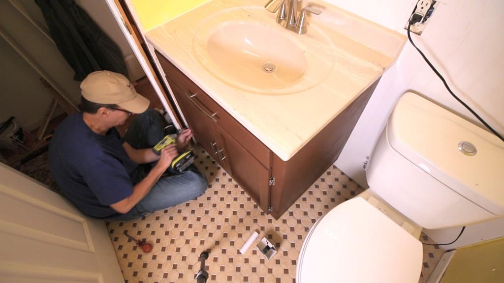 Vanity Cabinet Repair