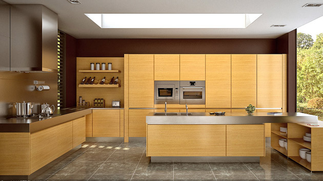 Wooden Finishes in Modern Kitchens